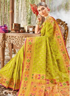 Uppada Silk Designer Traditional Saree