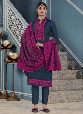 Uppada Silk Pant Style Pakistani Salwar Kameez For Ceremonial