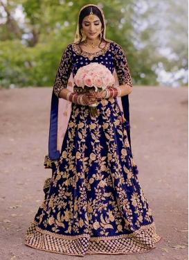 Velvet Trendy Lehenga Choli