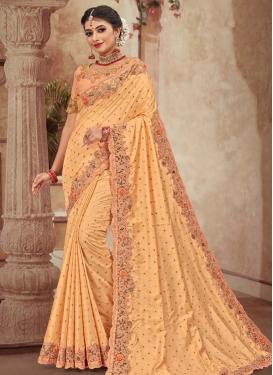 Viscose Designer Contemporary Style Saree