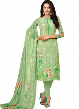 Viscose Digital Print Work Pakistani Straight Salwar Kameez