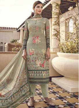 Viscose Digital Print Work Pant Style Pakistani Salwar Suit