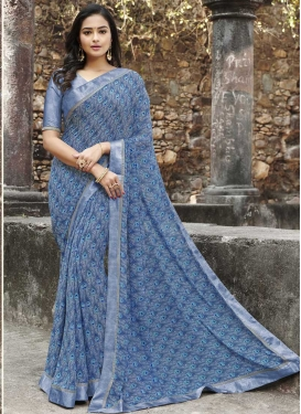 Weight Less Traditional Designer Saree