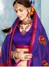 Whimsical Art Silk Cotton Classic Saree - 1