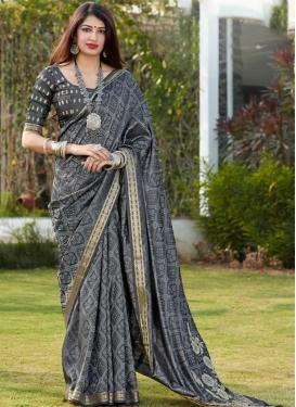 Woven Work Art Silk Contemporary Style Saree