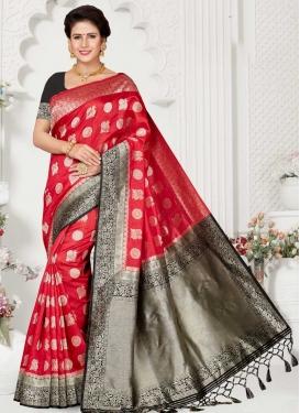 Woven Work Art Silk Designer Contemporary Saree