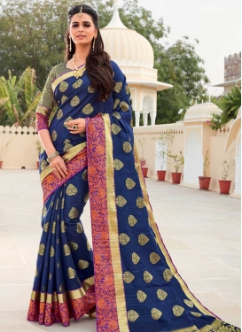 Woven Work Art Silk Designer Traditional Saree