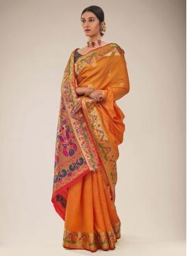 Woven Work Art Silk Designer Traditional Saree