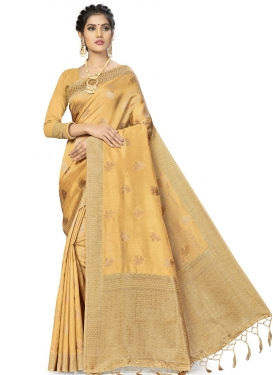 Woven Work Art Silk Traditional Designer Saree