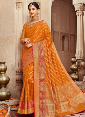 Woven Work Art Silk Traditional Saree