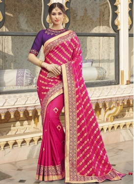 Woven Work Banarasi Silk Designer Traditional Saree