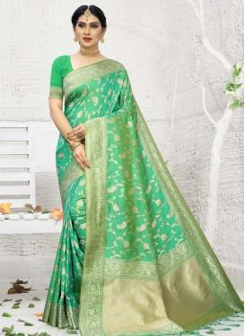 Woven Work Banarasi Silk Traditional Designer Saree
