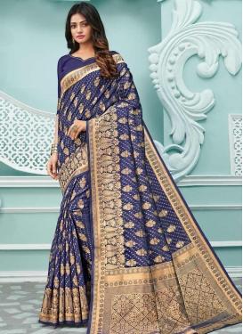 Woven Work Cotton Silk Designer Traditional Saree