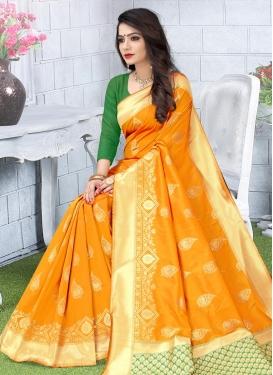 Woven Work Designer Contemporary Saree