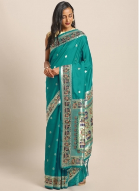 Woven Work Designer Traditional Saree