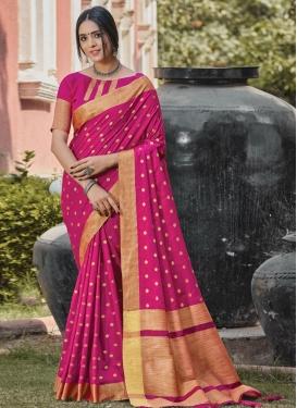 Woven Work Designer Traditional Saree