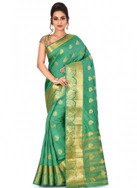 Woven Work Kanjivaram Silk Classic Saree