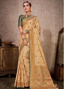 Woven Work Kanjivaram Silk Trendy Classic Saree