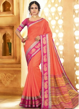 Woven Work Khadi Silk Designer Contemporary Saree