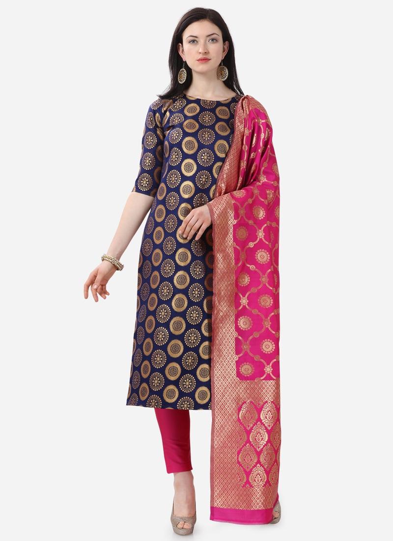 Woven Work Pant Style Pakistani Salwar Kameez