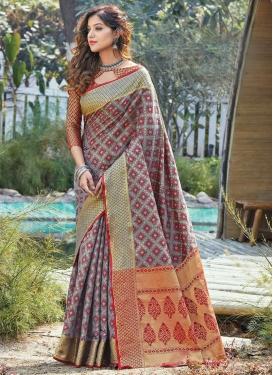 Woven Work Patola Silk Designer Traditional Saree