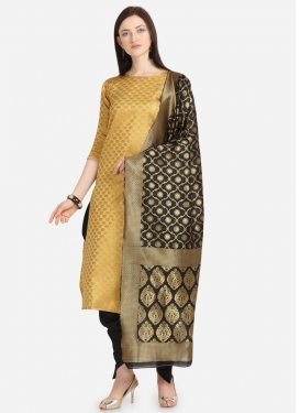 Woven Work Punjabi Salwar Suit For Casual