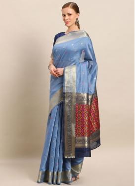 Woven Work Traditional Designer Saree