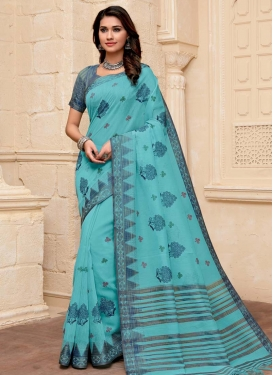 Woven Work Traditional Designer Saree