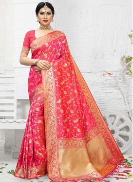 Woven Work Trendy Classic Saree