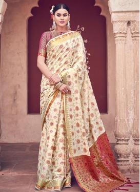 Woven Work Trendy Saree