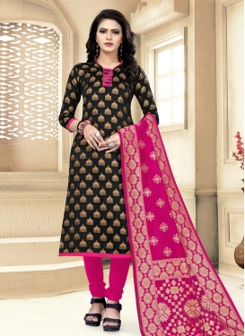 Woven Work Trendy Straight Suit