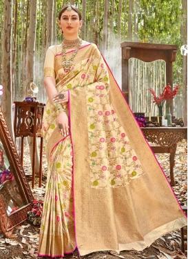 Woven Work Uppada Silk Designer Contemporary Style Saree